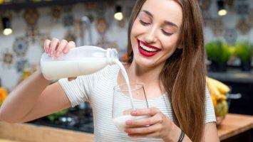 Mléko, nezdravé potraviny