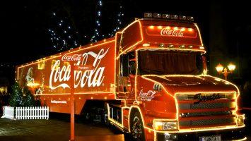 Coca-cola rozdávala dětem nápoje