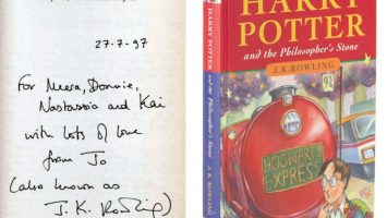 Harry potter - prvni vydani
