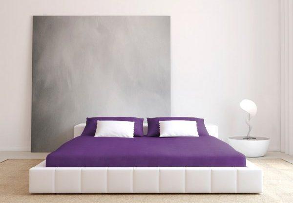 Ultrafialové prostěradlo a ložnice