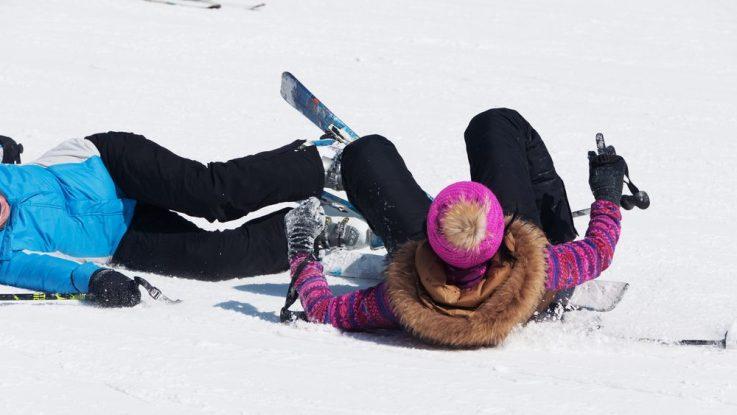 Odškodné při lyžařské nehodě