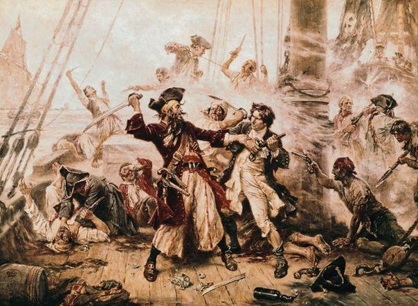 Útočící piráti
