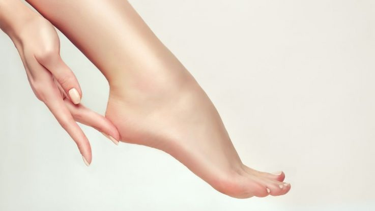 Péče o nohy, hladká chodidla
