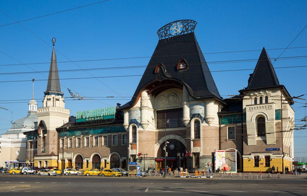 Jaroslavskyj vokzal, Moskva