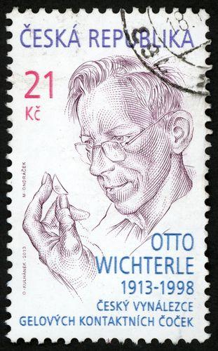 Otto Wichterle na poštovní známce