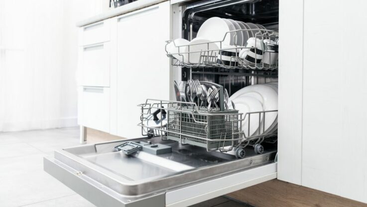 Vestavná myčka na nádobí